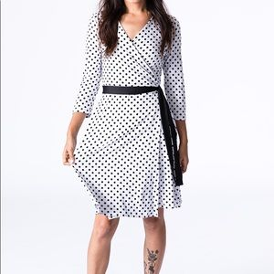 LuLaRoe Dresses - LuLaRoe Michelle Wrap Dress